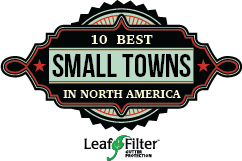 10 Best Small Towns Logo